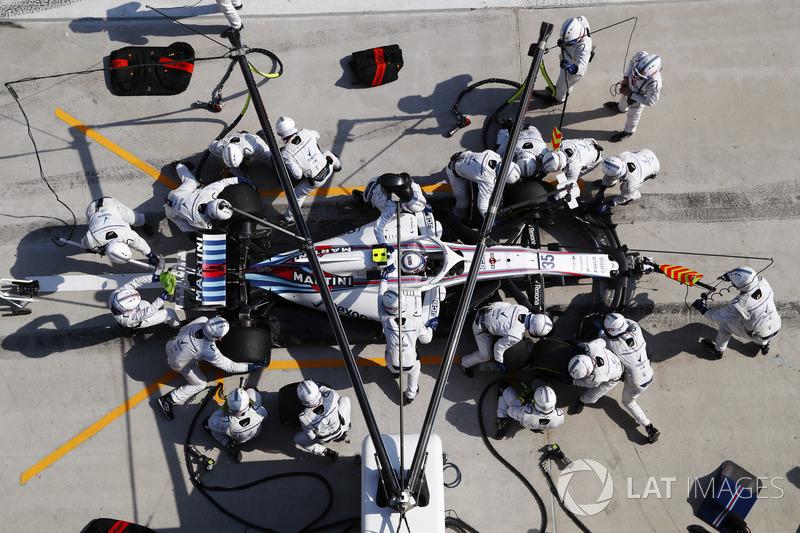Sergey Sirotkin, Williams FW41 Mercedes,
