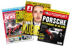 Nuestras revistas: Motorsport News, F1 Racing, Autosport