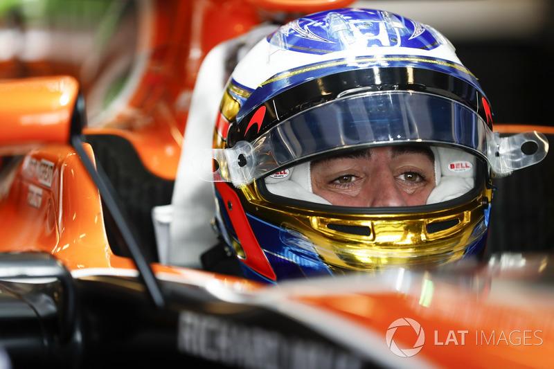 #14 Fernando Alonso, McLaren