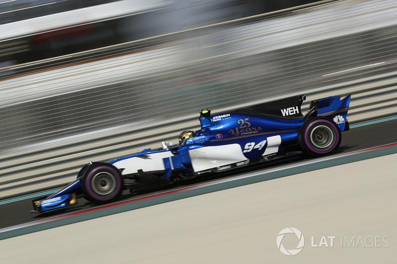 2017: Sauber-Ferrari C36 (одно восьмое место, 10-е место в КК)