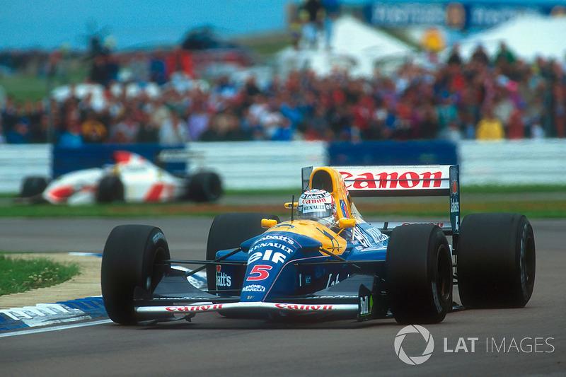 Найджел Менселл, Williams FW14B
