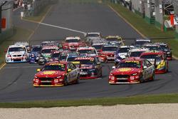 Fabian Coulthard, Team Penske Ford, Scott McLaughlin, Team Penske Ford