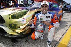 GTD ganador de la pole Tristan Vautier, 75 SunEnergy1 Racing