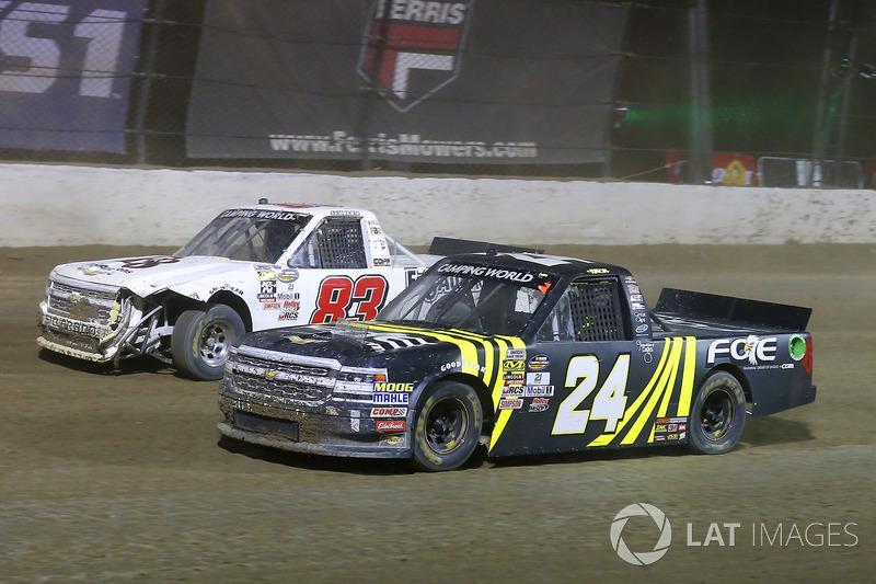 Justin Haley, GMS Racing Chevrolet, JJ Yeley, Chevrolet