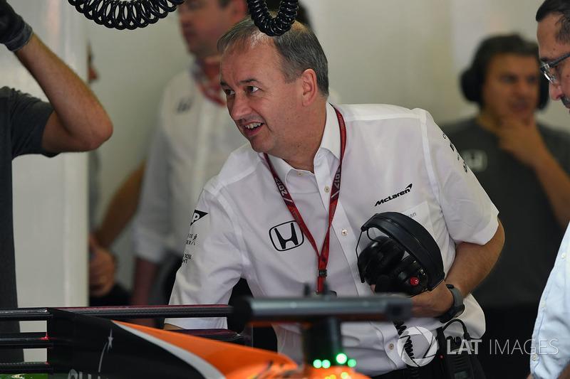 Jonathan Neale, director de McLaren