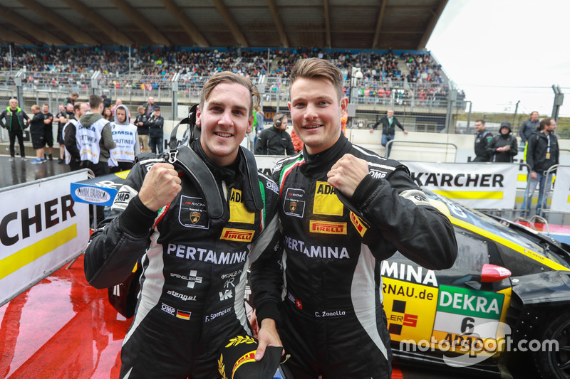 Florian Spengler und Christopher Zanella, HB Racing