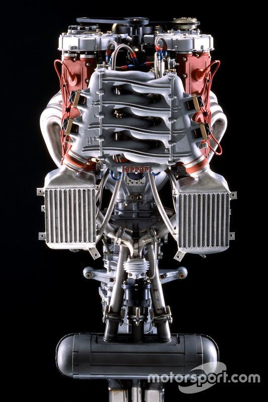Il motore della Ferrari F40