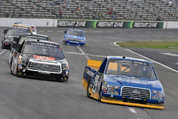 Chase Briscoe, Brad Keselowski Racing Ford and Christopher Bell, Kyle Busch Motorsports Toyota