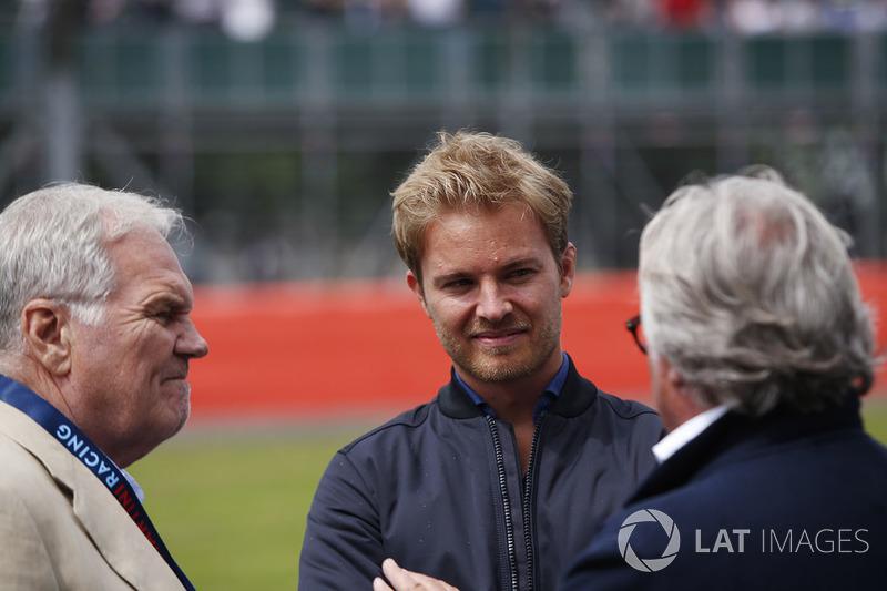 Patrick Head, Nico Rosberg, Keke Rosberg
