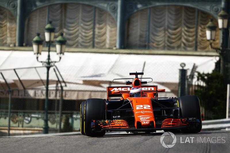 НФ. Дженсон Баттон, McLaren-Honda