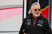 Dr. Vijay Mallya, dueño de Sahara Force India Formula One Team