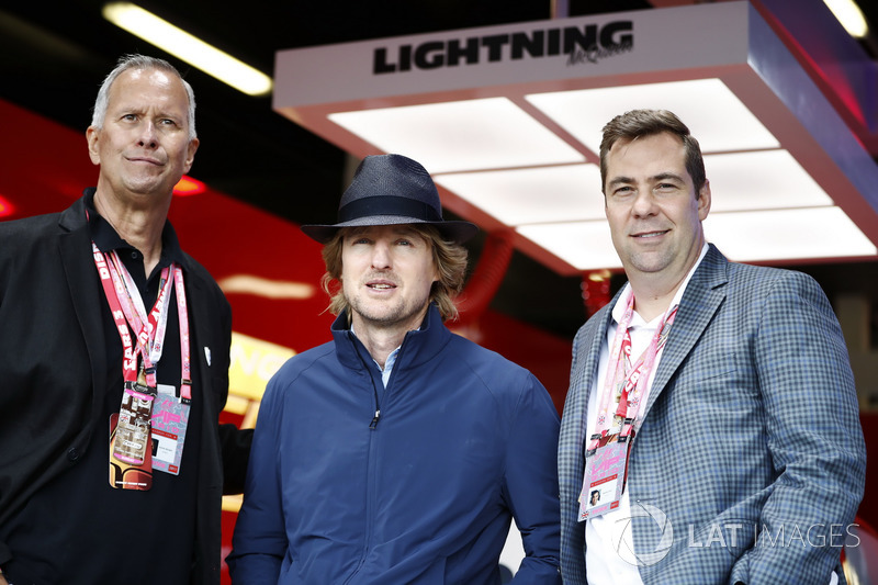 Actor Owen Wilson promociona Cars film