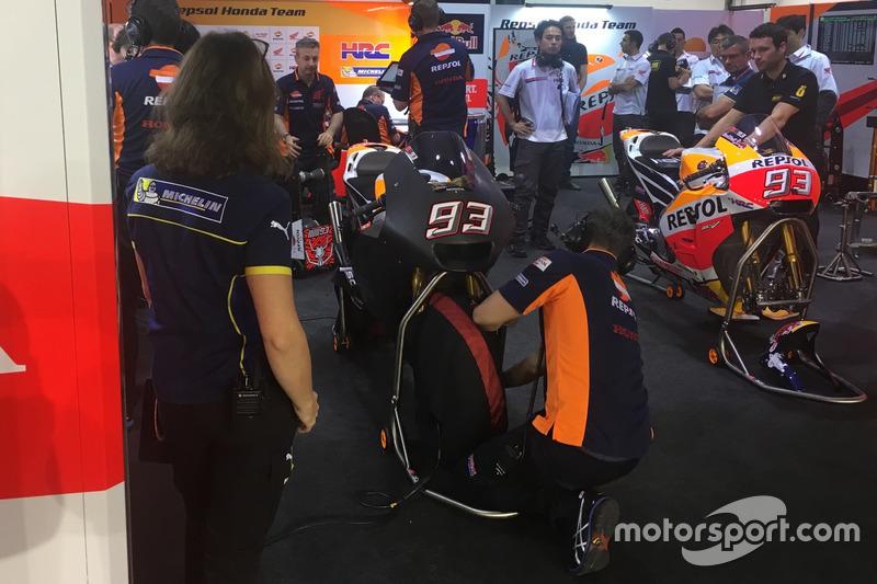 Мотоцикл Марка Маркеса, Repsol Honda Team із новим аеродинамічним обтічником