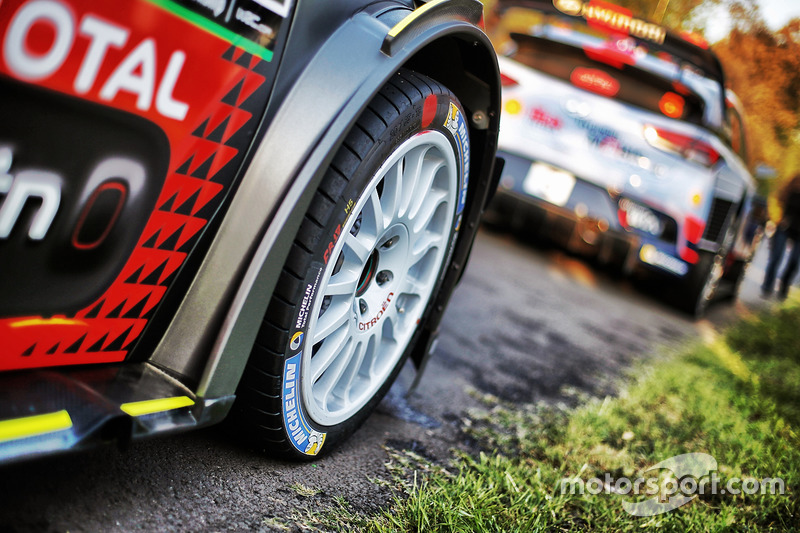 Detail: Citroën World Rally Team, Citroën C3 WRC