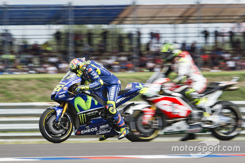 Valentino Rossi, Yamaha Factory Racing, practice start