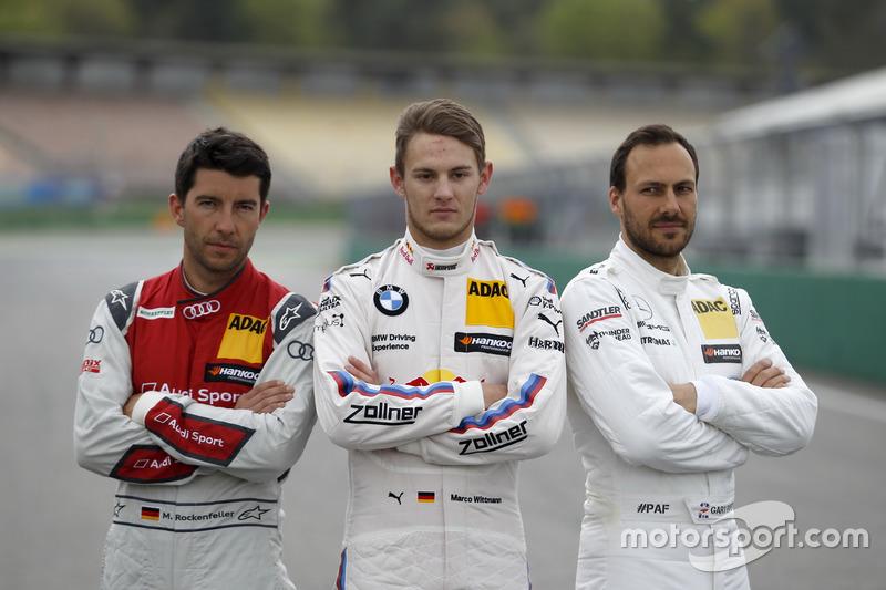 Mike Rockenfeller, Audi Sport Team Phoenix, Audi RS 5 DTM; Marco Wittmann, BMW Team RMG, BMW M4 DTM;