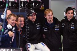 Sergio Pérez, Sahara Force India y mecánicos