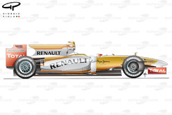 Renault R29 side view