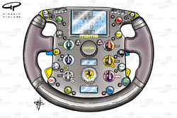 Ferrari F2004 (655) 2004 steering wheel