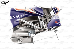 Red Bull RB7 diffuser hole