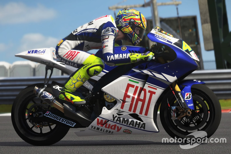 Valentino Rossi, Yamaha YZR-M1 2008