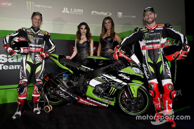 Tom Sykes et Jonathan Rea, Kawasaki Racing