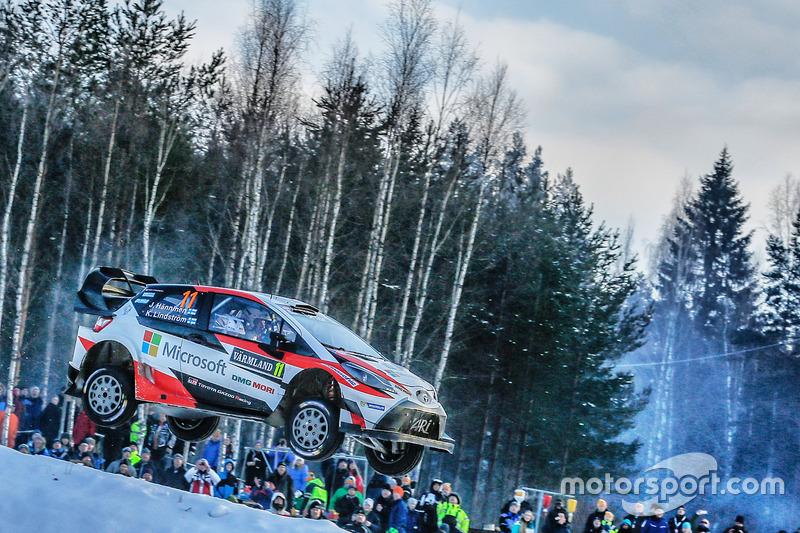 Юхо Хяннинен, Кай Линдстрем, Toyota Yaris WRC