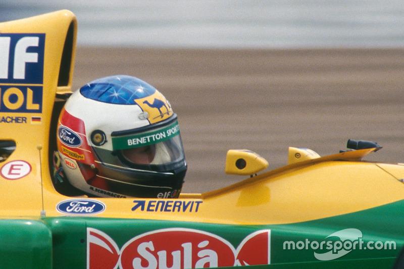 1993 год: Benetton