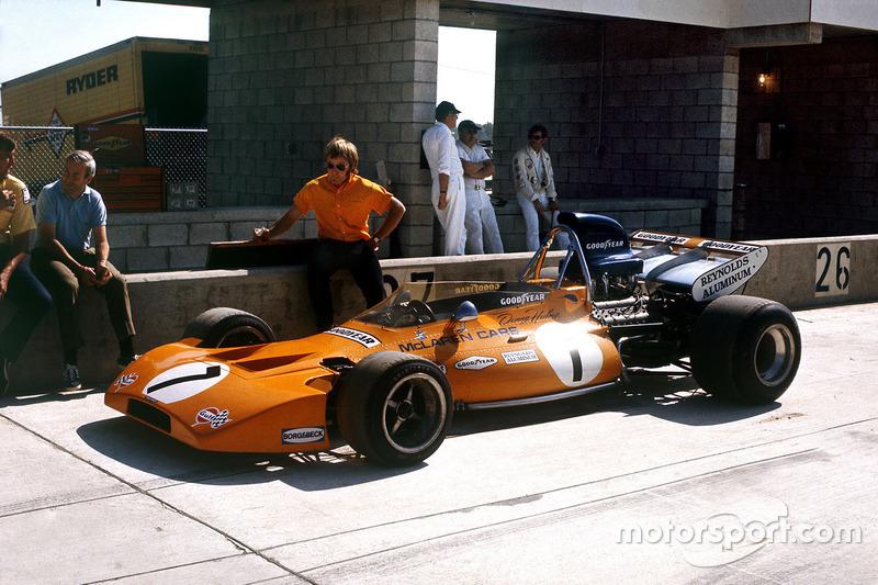 Denny Hulme, McLaren M19A, Ford