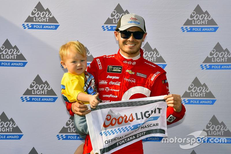 Polesitter: Kyle Larson, Chip Ganassi Racing, Chevrolet