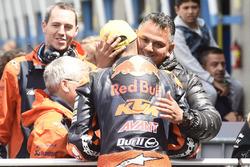 Bo Bendsneyder, Red Bull KTM Ajo, mit seinem Vater