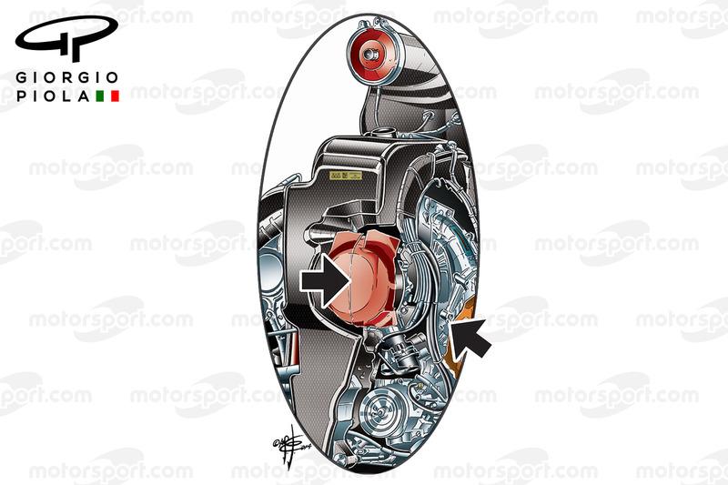 Mercedes F1 W08: Kompressor