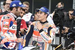 Кваліфікація: друге місце Даніло Петруччі, Pramac Racing, третє місце Марк Маркес, Repsol Honda Team