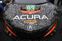 #93 Michael Shank Racing Acura NSX: Andy Lally, Katherine Legge, Mark Wilkins