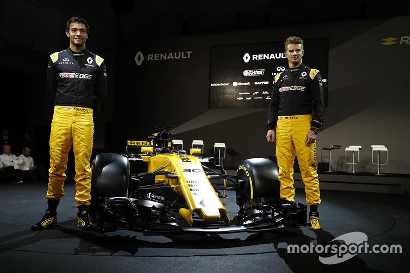 A Renault esperava dar um salto de qualidade após um ano difícil em 2016. Para isso, decidiu apostar no R.S.17 e na dupla Nico Hulkenberg e Jolyon Palmer.