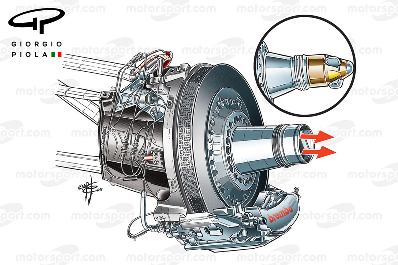 """Red Bull RB9 """"B"""" Duct right view"""