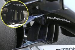 Mercedes AMG F1 W07, dettaglio