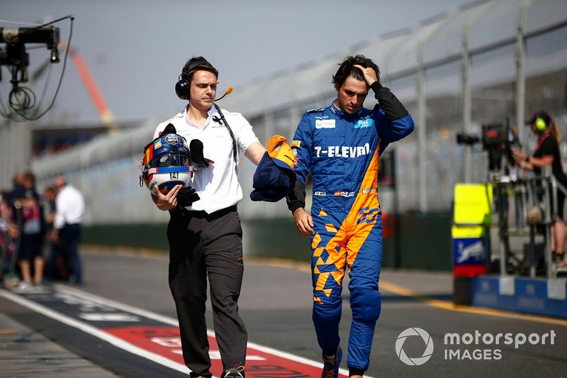 Carlos Sainz Jr. and Rupert Manwaring