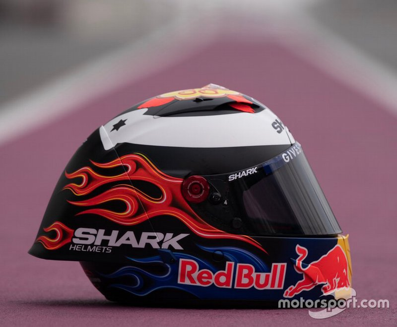 Jorge Lorenzo, Repsol Honda, nuevo casco 2019