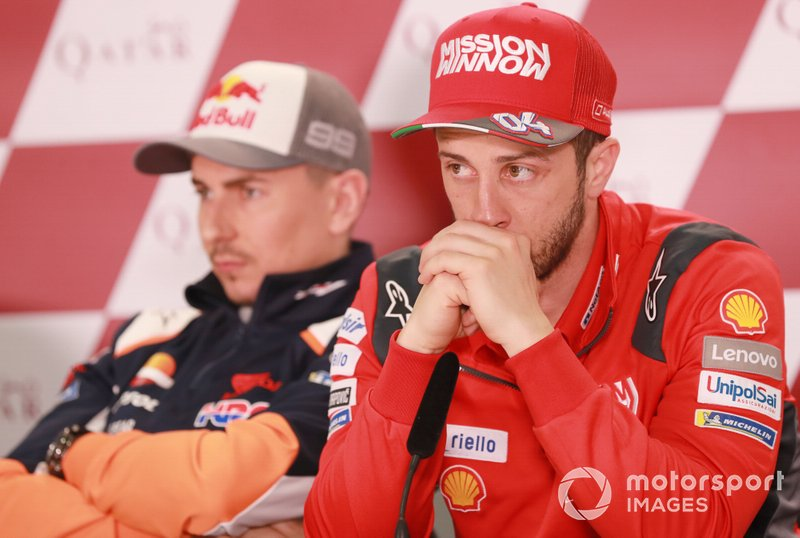 Jorge Lorenzo, Repsol Honda Team, Andrea Dovizioso, Ducati Team