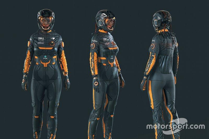 Le pilote en 2050 selon McLaren