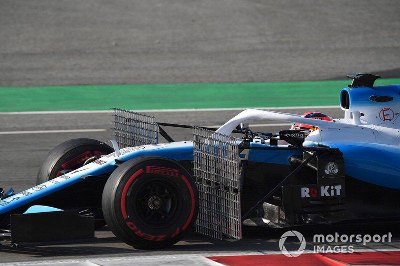 Robert Kubica, Williams FW42 avec capteurs aéro