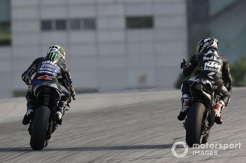 Маверік Віньялес, Yamaha Factory Racing, Хафіж Шахрін, Red Bull KTM Tech 3