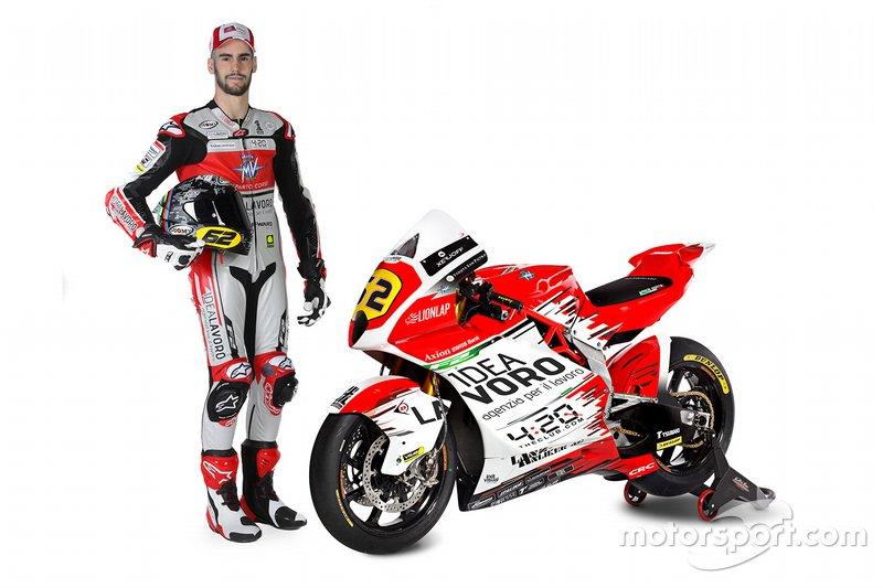 Stefano Manzi, MV Agusta Forward Racing