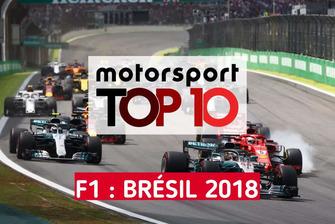 Top 10 du GP du Brésil