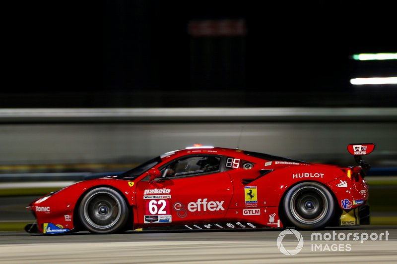 #62 Davide Rigon, Miguel Molina, Alessandro Pier Guidi, James Calado; Risi Competizione, Ferrari 488 GTE (GTLM)