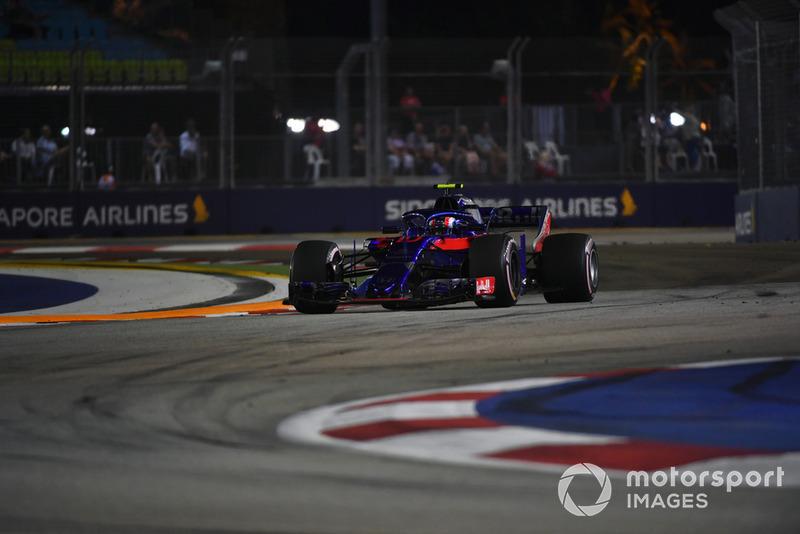15. Pierre Gasly, Scuderia Toro Rosso STR13