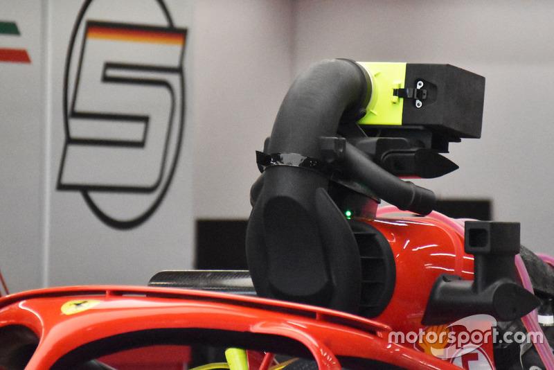 Sistema de refrigeración del motor Ferrari