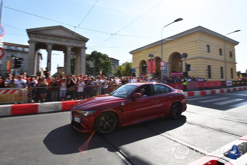 Marcus Ericsson, Sauber in Alfa Romeo Quadrifoglio