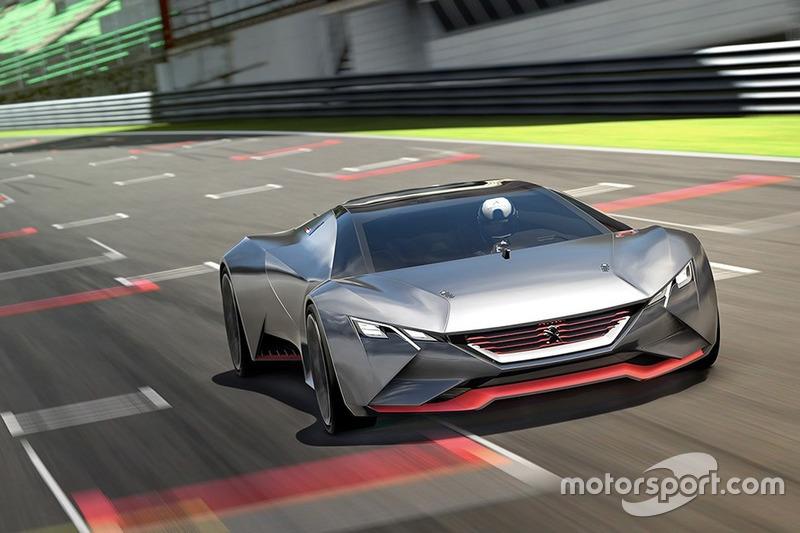 PEUGEOT Vision Gran Turismo (junio 2015)